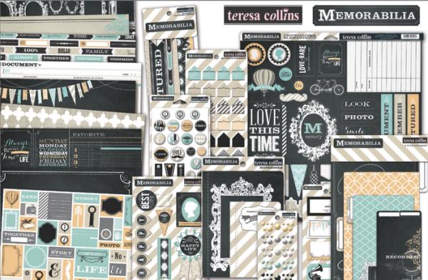 Memorabilia collection by Teresa Collins