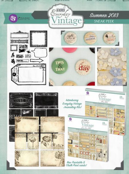 Everyday Vintage collection by Prima