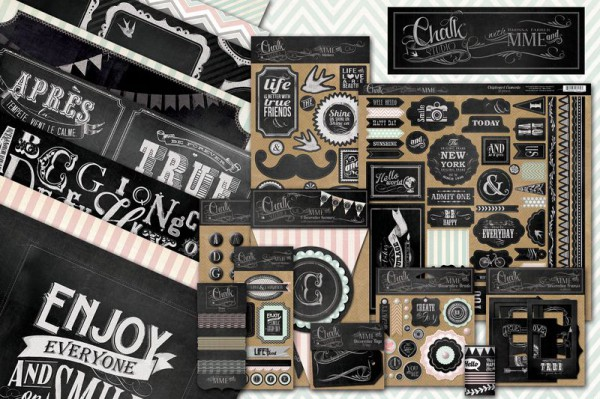 Chalk Studio collection by My Mind's Eye