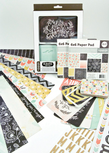 Chalkboard collection by We R Memory Keepers