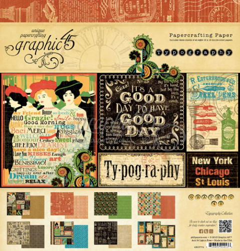 Typography collection by Graphic 45