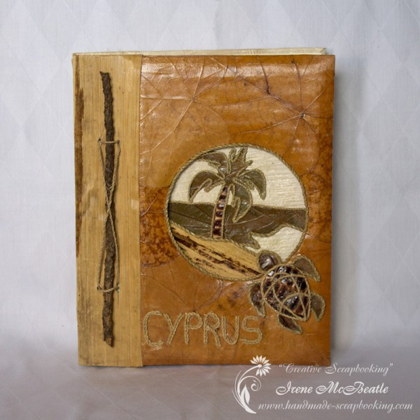 Cyprus Vacation Scrapbook Album