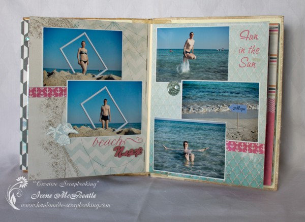cyprus vacation scrapbook album creative scrapbooking. Black Bedroom Furniture Sets. Home Design Ideas