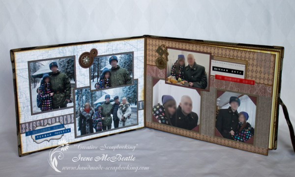 Military Service Photoalbum Layout 1