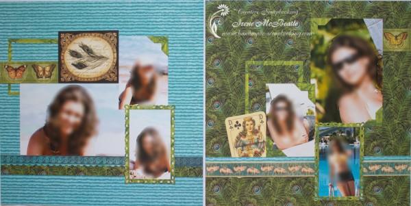 Large album - girl's photo session