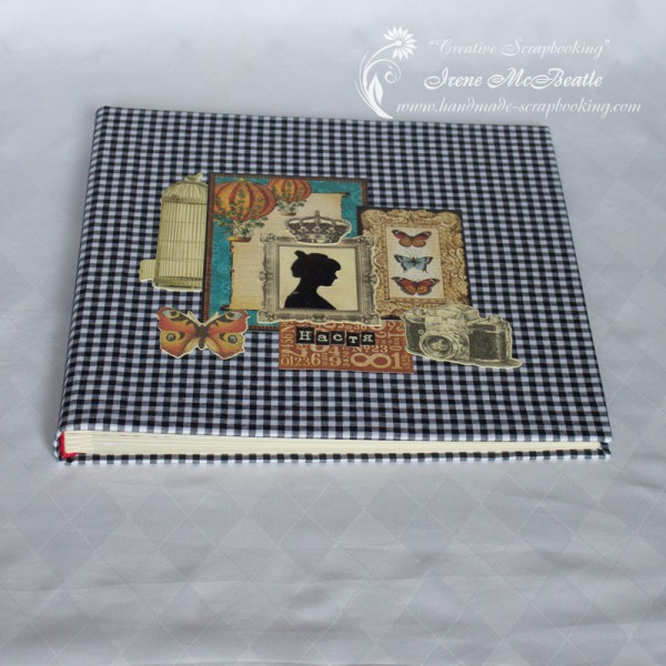 Large album - cover and binding