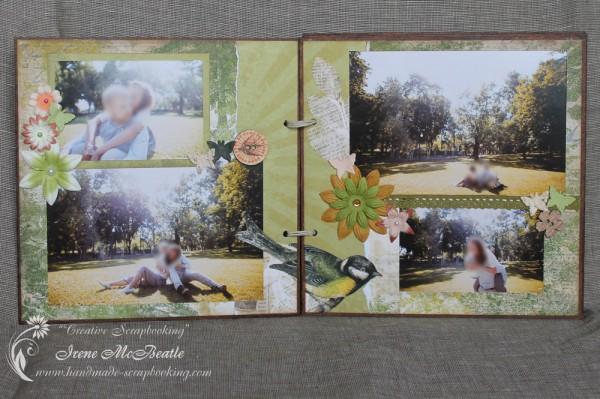Eco-Style Scrapbook Album