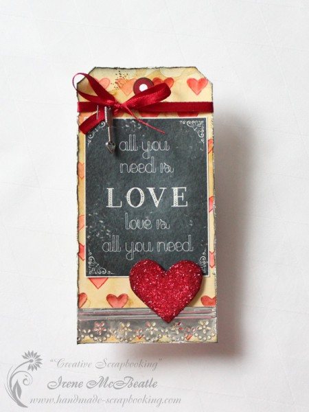 Tim Holtz - 12 Tags of 2014 - February