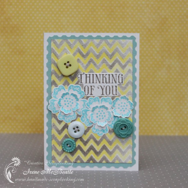 Thinking of You - Card with Buttons