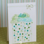 Hello Card – Stamping