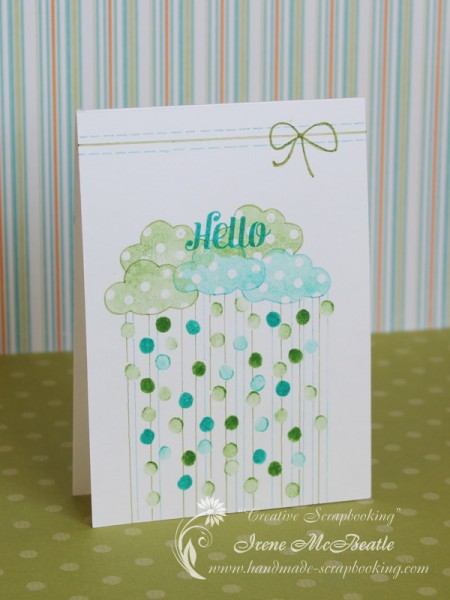 Hello Card - Stamping