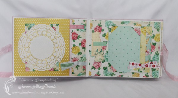 Newborn Scrapbook - Crate Paper