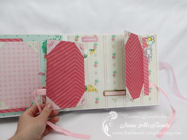 Newborn Scrapbook - Space for more photos
