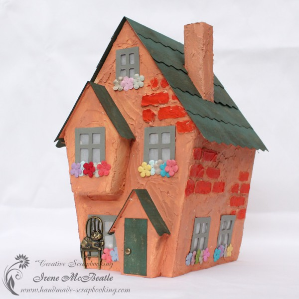House Model - Paper And Modeling Paste