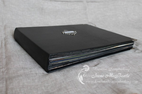 Masculine Scrapbooking Album - Binding 22 Pages