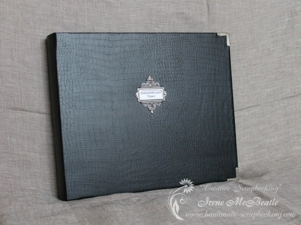 Masculine Scrapbooking Album Leather Cover