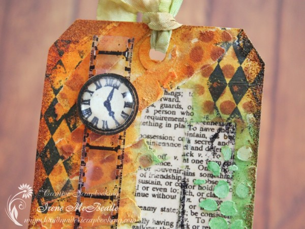 Tim Holtz Tag August 2014 – Details