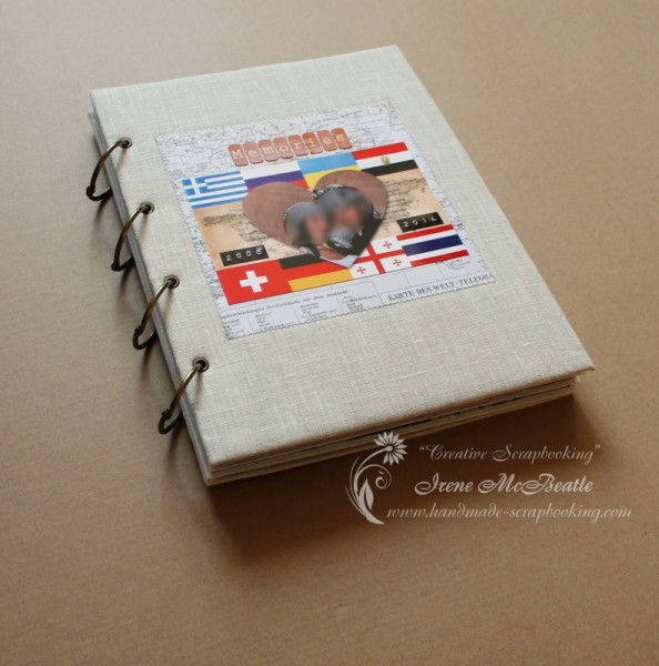 Travel Scrapbook Album - Creative Scrapbooking