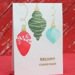 Two Holiday Cards Featuring Simon Says Stamp Products