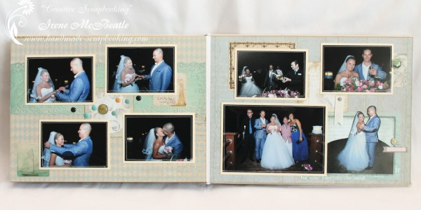 Wedding Scrapbooking - Ceremony Page