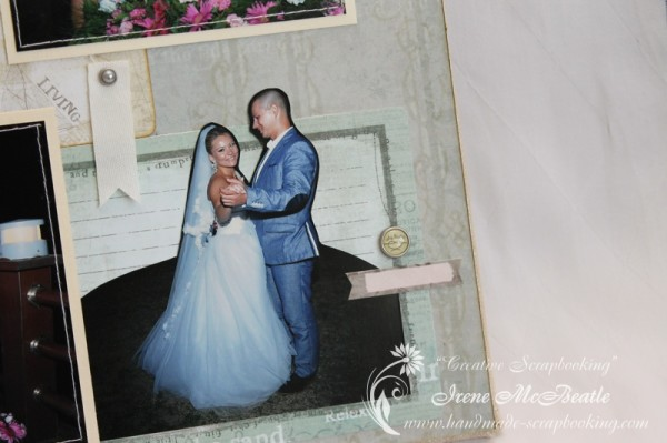 Wedding Scrapbooking - First Dance