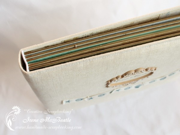 Wedding Scrapbooking - Album binding