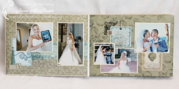 Wedding Scrapbooking - Groom and Bride
