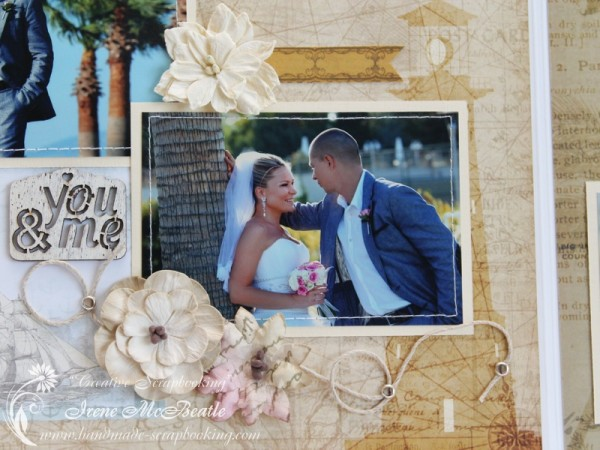 Wedding Scrapbooking - Flower Embellishments