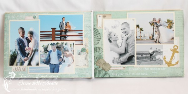Wedding Scrapbooking - Anchor Page
