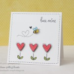 Bee Mine – Clean and Simple Card