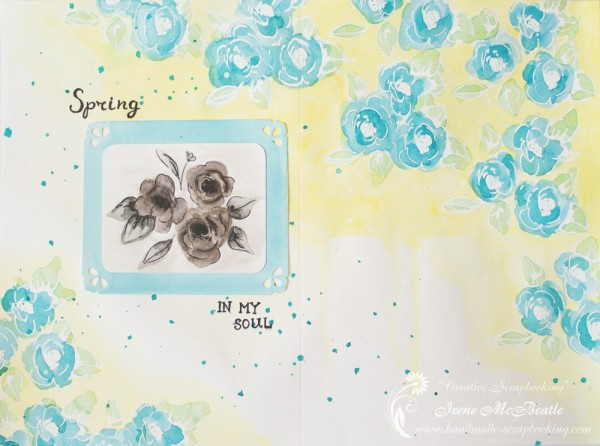 "Art-layout ""Spring in My Soul"""