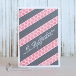 My New Card – Dots and  Stripes