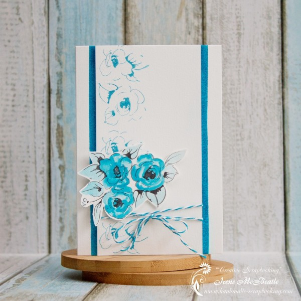 Altenew Flower Stamps Card