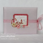Scrapbook Album For Newborn Baby Girl