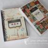Travel album in a box