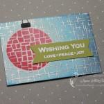 Artist Trading Cards: Love Peace Joy