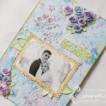 Decorative Frame with Wedding Photo